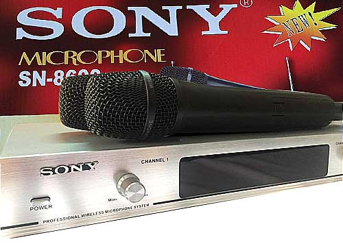 Microphone Sony SN-8600