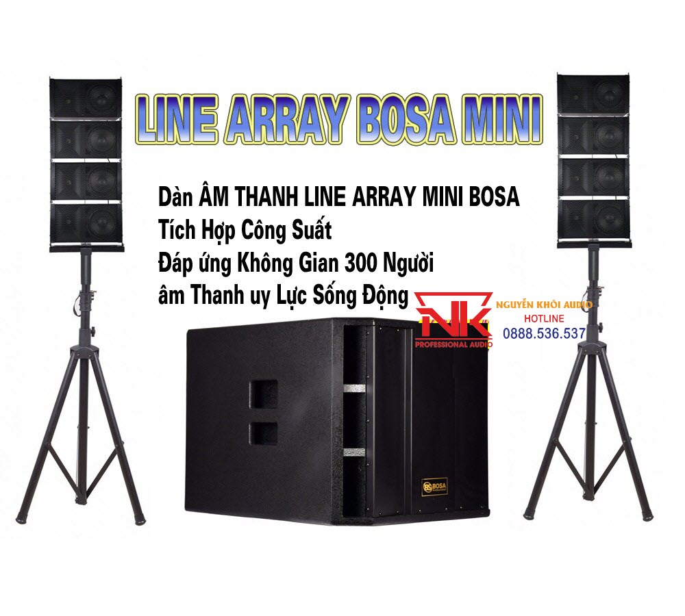 Loa Array Mini BOSA Z1111